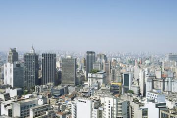 Sao Paulo Brazil Cityscape Skyline