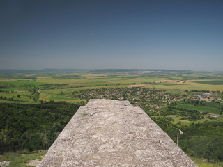 Fortress above Madara - view from the wall