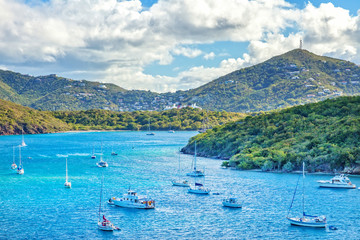 Canvas Prints Caribbean St. Thomas