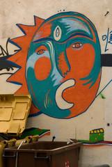 Street Art Sun