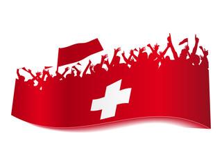 2014 Gruppen Schild - Schweiz