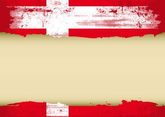 danish scratched flag