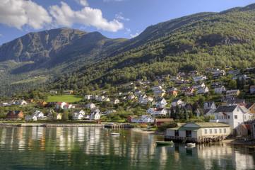 Fjord Area Norway