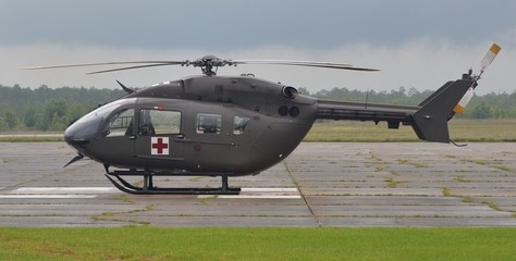 Fototapete - UH-72A Lakota Light Utility Helicopter