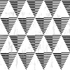 seamless geometric background pattern, with triangles and stripe