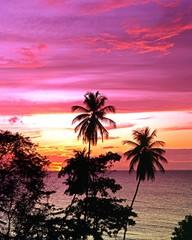 Sunset at Great Courland Bay, Tobago © Arena Photo UK