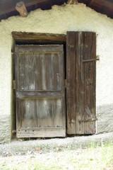 Ancient door rural