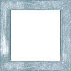 blue vintage wooden photo frame