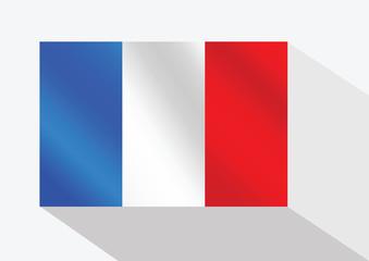 France Flag. illustration