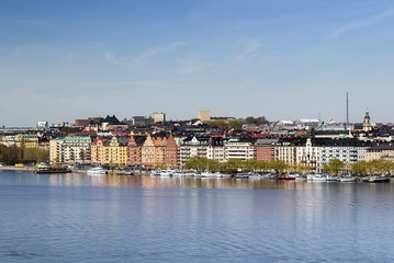 view of Norr Malarstrand, Stockholm