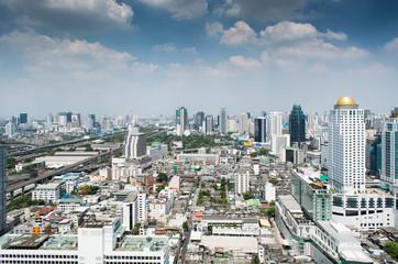 cityscape in Bangkok Thailand