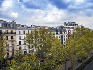 Paris, France. Typical city view