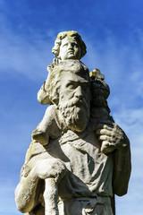 Jesus Christ sculpture composition near the church