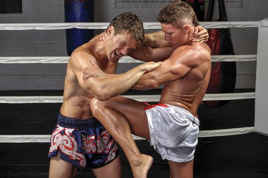 Muay Thai match