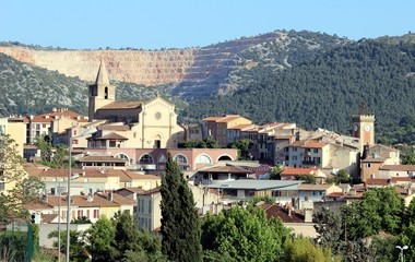 Aubagne en Provence : centre-ville historique