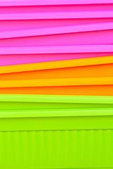 fluorescent multicolored  jardiniere