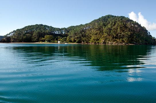 Roberton Island in the Bay of Islands New Zealand