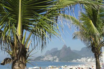 Ipanema Beach Rio de Janeiro Brazil Arpoador