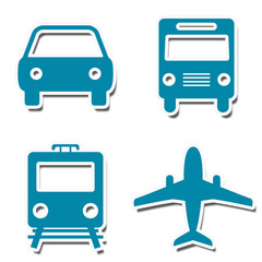 Travel Icons Stickers
