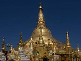 Shwedagon, Yangon, Myanmar, Burma.