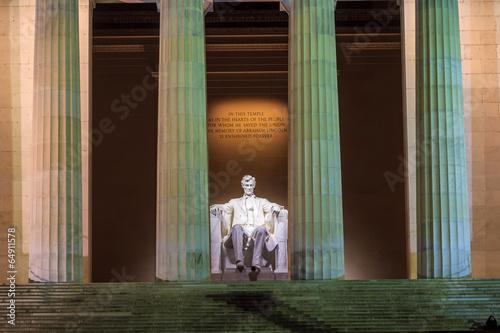 Wall mural Lincoln Memorial