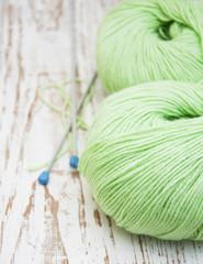 skeins of thread