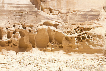 Wind and Water Erosion Wall mural