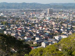 館山 城山公園からの眺望