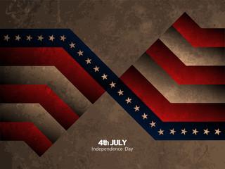 American flag theme background design