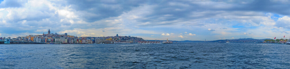 ISTANBUL, TURKEY- CIRCA APRIL 2014: View from the region Sultana