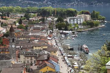 Le marché d'ascona.