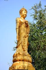 Maitreya Buddha at Wat Pusawan Phetchaburi Thailand