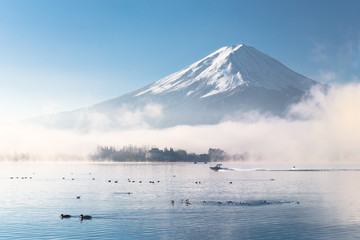 Wall Mural - Good Morning Mt.Fuji