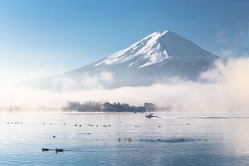 Fototapete - Good Morning Mt.Fuji