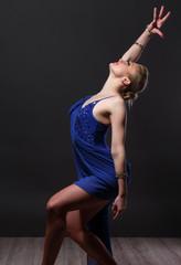 Dancing girl.