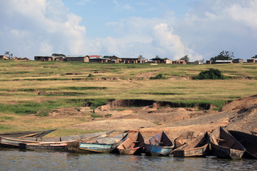 African Fishing village