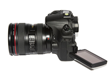 Kamera mit Schwenkdisplay