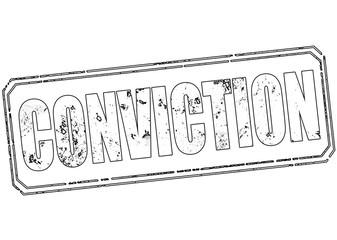 conviction stamp