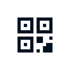 Quick Response Code (QR Code) Icon
