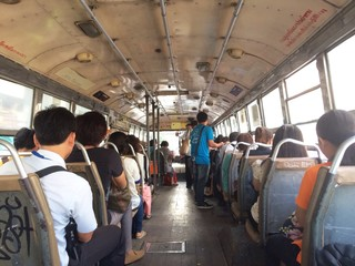 Passenger on the bus