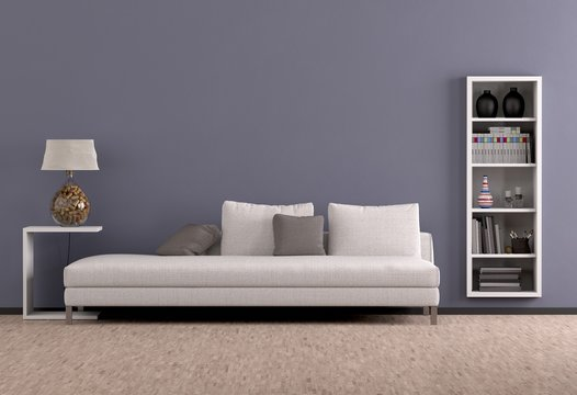 Wohnraum mit Sofa