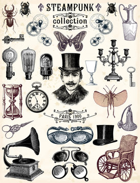 Collection Steampunk