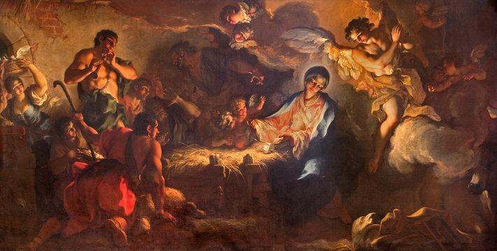 Venice - Adoration of shepherds in San Zaccaria church.
