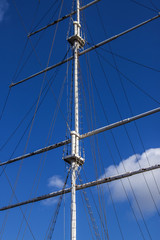 Rigging against the sky