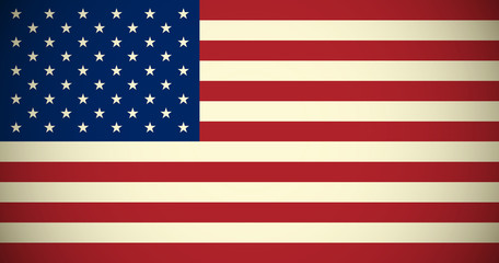 American flag for Your design