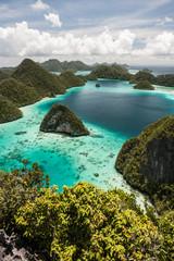 Aluminium Prints Indonesia Limestone Islands 1