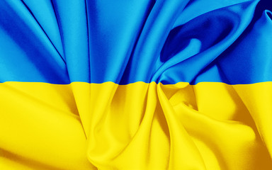Ukraine Fahne