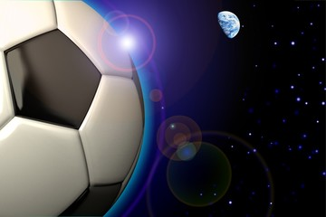 soccer background poster
