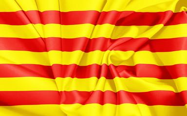 Katalonien Fahne