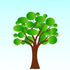 Vector bubble tree